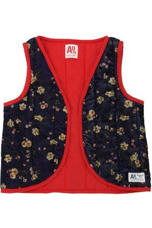 American Outfitters Niña Chalecos - Chaleco Estilo Kimono De Terciopelo