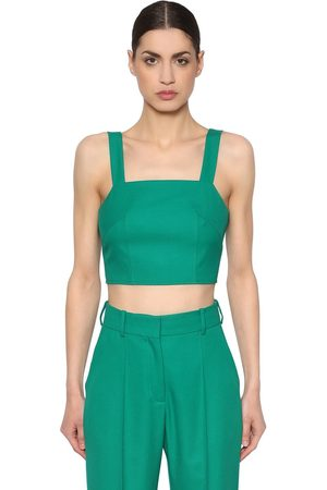 RACIL TOP CROPPED DE FRESCO DE LANA