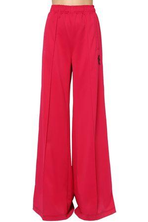 Marni Pantalones Anchos De Techno Jersey