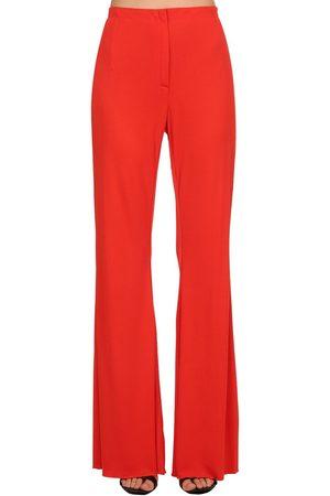 Marni Pantalones De Crepé Y Jersey