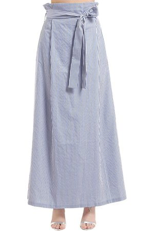 T.A.G.G. STRIPED COTTON SKIRT