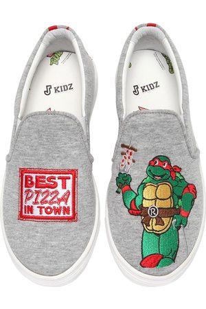 """JOSHUA SANDERS Sneakers Slip-on """"raphael Ninja Turtle"""""""