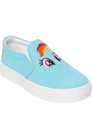 "JOSHUA SANDERS Sneakers Slip-on De Lona Con Parche ""rainbow"""
