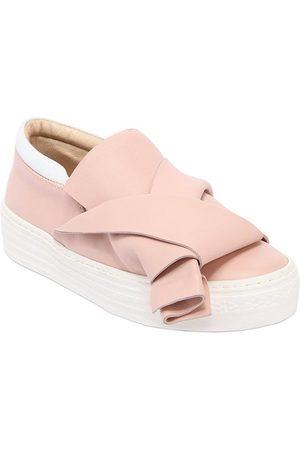 Nº21 Sneakers Slip-on De Piel
