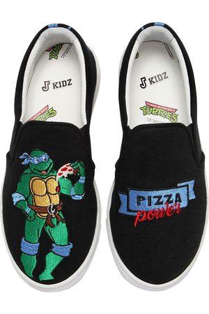 "JOSHUA SANDERS Sneakers Slip-on ""leonardo Ninja Turtle"""