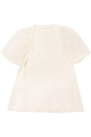 Unlabel Vestido De Mezcla De Lino