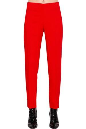 Media Pierna Pantalones Y Vaqueros De Mujer Color Rojo Fashiola Es