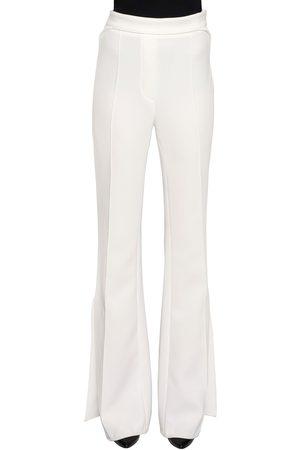 Ellery | Mujer Pantalones De Georgette Acampanados 12