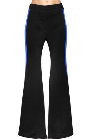 Ellery | Mujer Pantalones De Cady Acampanados Bandas Laterales /azul 6