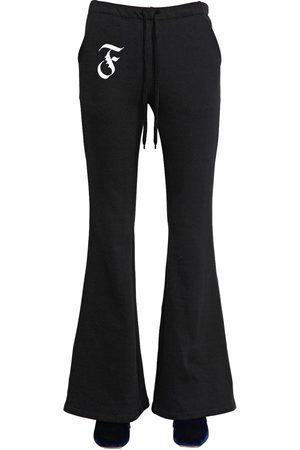 Mujer Pantalones y Leggings - PANTALONES DE ALGODÓN ACAMPANADOS