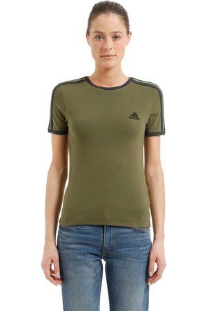 Yeezy   Mujer Camiseta De Jersey De Algodón /negro Xs