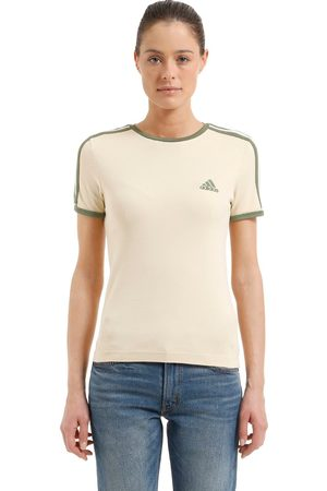 Yeezy   Mujer Camiseta De Jersey De Algodón /verde Xs