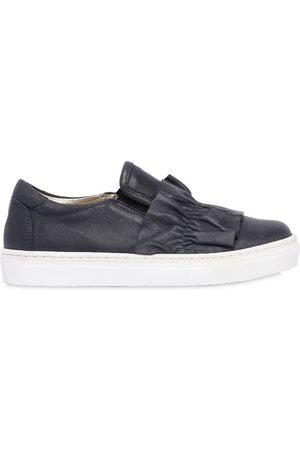 MONNALISA Sneakers Slip-on De Piel