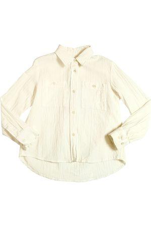 American Outfitters | Niña Camisa De Gasa De Algodón 8a