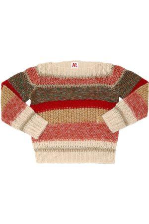 American Outfitters | Niña Suéter De Lana Y Mohair /multicolor 8a