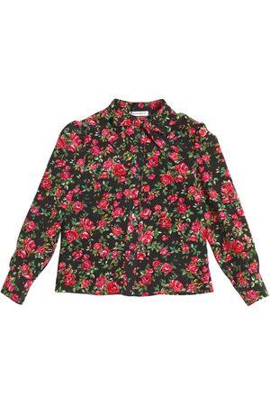 Dolce & Gabbana Camisa De Crepé De Seda De China Estampada