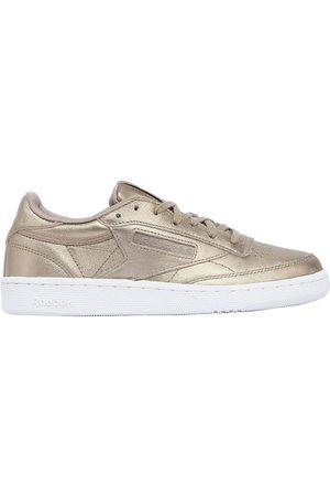 """Reebok   Mujer Sneakers """"club C 85 Hype"""" De Piel Metalizada 5"""