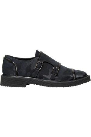 Giuseppe Zanotti Zapatos Monk Con Estampado Camuflaje