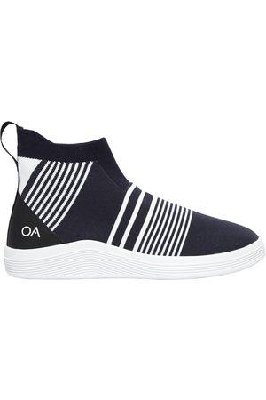 ADNO Sneakers Slip-on Altas De Punto A Rayas