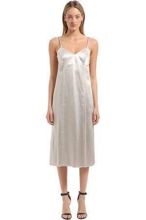 Calvin Klein | Mujer Vestido De Satén 42