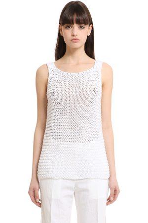 Calvin Klein | Mujer Camiseta De Tirantes De Punto De Algodón Xs
