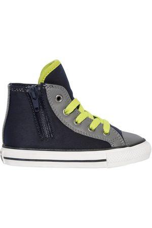 Converse Sneakers Altos De Piel Y Neopreno