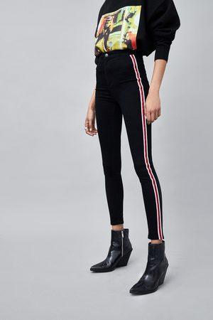Zara JEGGING HI-RISE SUPER ELASTIC BANDA LATERAL