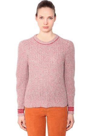 RAG&BONE | Mujer Suéter De Punto De Lana Merina /rojo Xs