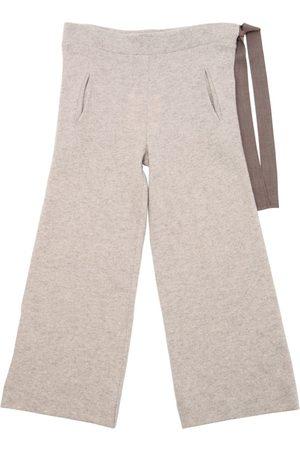 Unlabel Pantalones De Punto De Lana Con Cordones