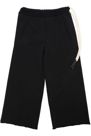 Unlabel Pantalones Deportivos Ancohos De Algodón