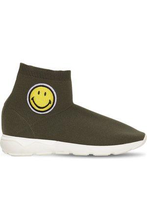 JOSHUA SANDERS Sneakers Slip-on Con Parche Smiley