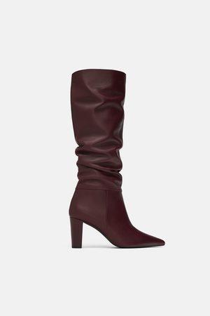 72fdcf9ff30 Botas de mujer Zara calzado outlet ¡Compara 184 productos y compra ahora al  mejor precio!