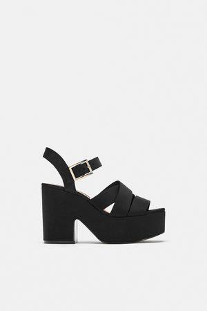 bed3219c5d39d Zapatos Con Plataforma de mujer Zara baratas ¡Compara 97 productos y ...
