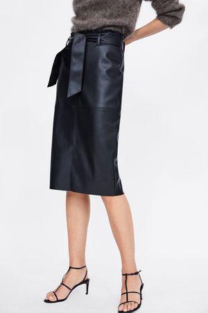Faldas De Cuero de mujer Zara marcas ¡Compara 53 productos y compra ... 1ebaab12337a