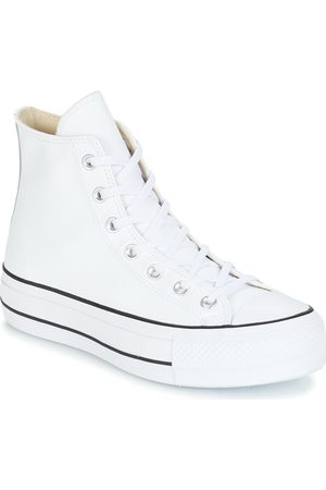 0047b135c4e Converse Zapatillas altas CHUCK TAYLOR ALL STAR LIFT CLEAN LEATHER HI para  mujer