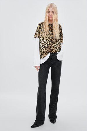 Zara Camiseta estampada