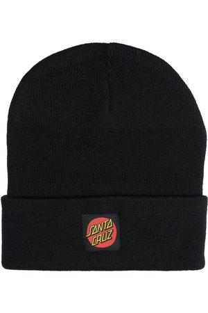 Santa Cruz Gorros - Classic Label Dot Beanie negro