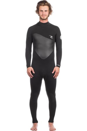 Rip Curl Omega 3/2 Gb Back Zip Wetsuit negro