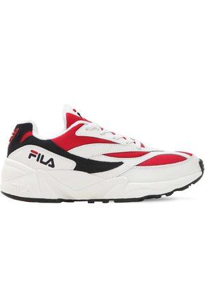 Fila | Mujer Sneakers De Malla Y Piel /rojo 40