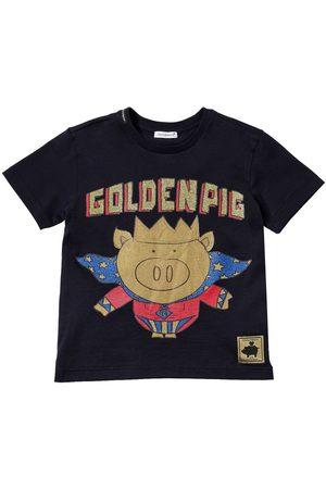 Dolce & Gabbana | Niño Camiseta De Jersey De Algodón Con Estampado 8a