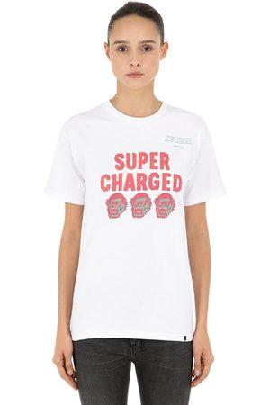 """X-Large Camiseta """"super Charged"""" De Jersey De Algodón"""