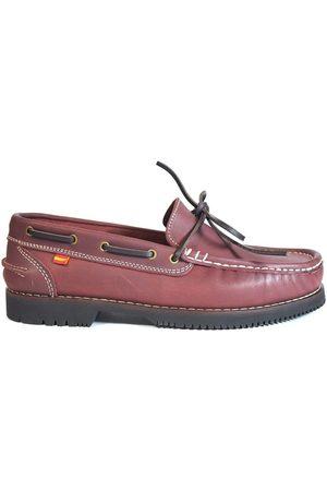 La Valenciana Náuticos Zapatos Apache Olivenza Burdeos para mujer