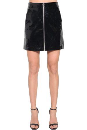 RAG&BONE | Mujer Mini Falda De Charol Con Cintura Alta 25