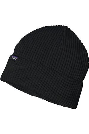 Patagonia Fishermans Rolled Beanie negro