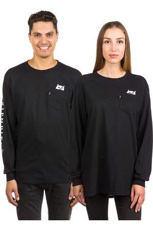 Rip N Dip Lord Nermal Pocket Long Sleeve T-Shirt negro