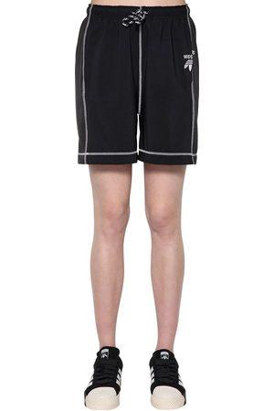 adidas Shorts De Satén Y Algodón