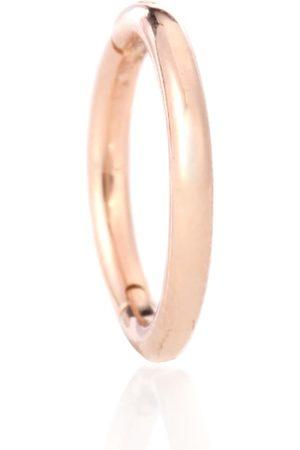 Maria Tash Argolla Plain Ring en oro rosa de 14 ct