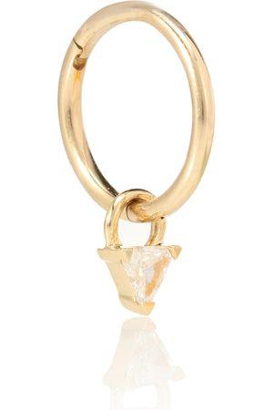 Maria Tash Arete único de oro de 18 ct con diamante