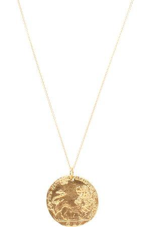 Alighieri Collar con baño en oro de 24 ct Il Leone