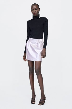 Faldas De Cuero de mujer Zara online. ¡Compara y compra! 6eee05eff556